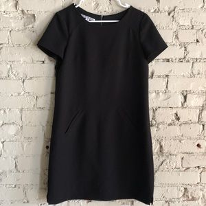 Maggy London Black Dress with pockets